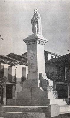 GALERÍA DE FOTOS DE ALZIRA (4)     //      MONUMENTO DEDICADO A JAIME I