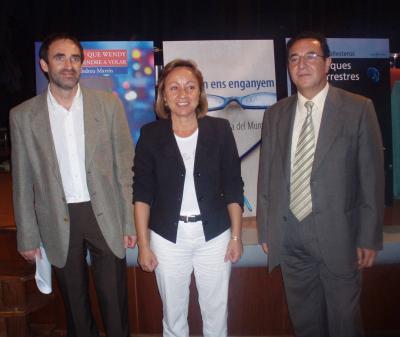 ES PRESENTA, EN LA CASA DE LA CULTURA, EL PROGRAMA D'ACTES DELS PREMIS LITERARIS CIUTAT D'ALZIRA 2007
