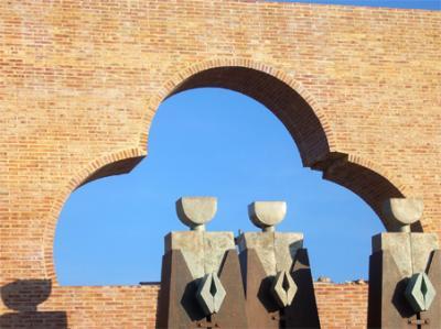 EL BLOC D'ALZIRA DENUNCIA EL DETERIORAMENT DEL MONUMENT MODERN DE SANT BERNAT I LES GERMANETES
