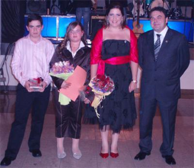 MARI CREU CASAÑ I SARA PIERA, NOVES FALLERES MAJORS 2008 DE LA FALLA CAMÍ NOU D'ALZIRA _____ ( Alzira – Fiestas – Fallas – Falles )