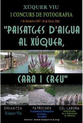 """I CONCURS DE FOTOGRAFIA """"PAISATGES D'AIGUA AL XÚQUER: CARA I CREU"""""""