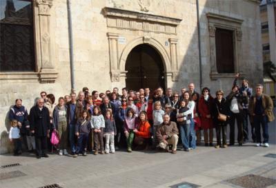 MÁS DE 50 PERSONAS VISITARON EN ALZIRA ENTORNOS RELACIONADOS CON JAIME I