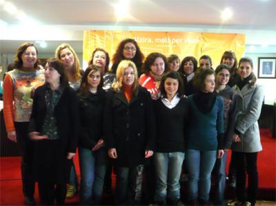 ESTUDIANTES ITALIANAS HAN VISITADO EL AYUNTAMIENTO DE ALZIRA