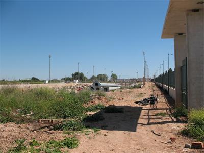 FOTO – DENUNCIA DE ALZIRA (23) __ LAS DEFICIENCIAS EN LAS INSTALACIONES DEPORTIVAS DE TULELL