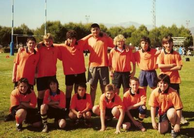 CLUB DE RUGBY ALZIRA. EQUIPO ALEVINES TEMPORADA 2007-2008