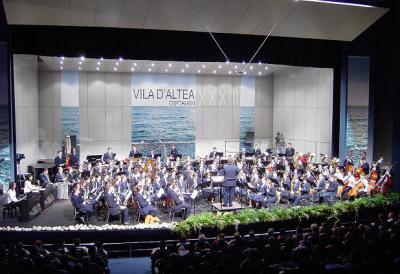 LA BANDA SINFÓNICA DE LA SOCIETAT MUSICAL D'ALZIRA OFRECE UN CONCIERTO BENÉFICO PARA EL ASILO