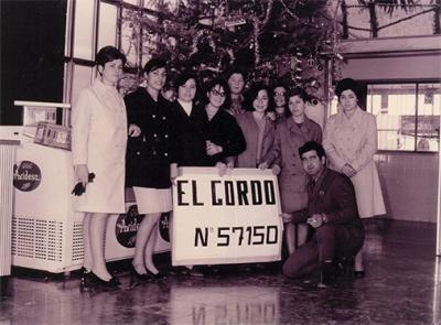 ESTAMPAS Y RECUERDOS DE ALZIRA (42) __ EL GORDO DE LA LOTERÍA DE 1968 EN ALZIRA __ POR: ALFONSO ROVIRA