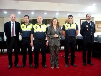 HAN TOMADO POSESIÓN DE SU CARGO TRES NUEVOS AGENTES DE LA POLICÍA LOCAL DE ALZIRA