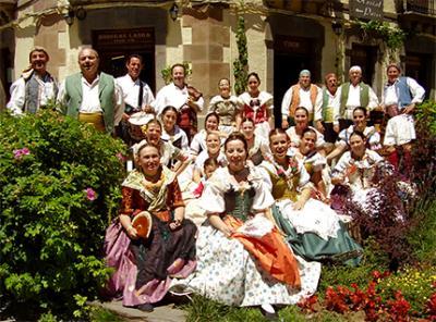 EL GRUP DE DANSES D'ALZIRA HA PARTICIPADO EN LAS V JORNADAS DE FOLCLORE TRADICIONAL POPULAR DE JACA