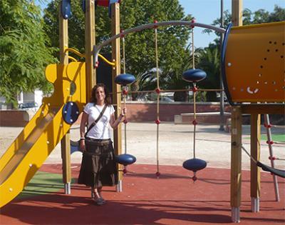 FINALIZADAS EN ALZIRA LAS OBRAS DE RENOVACIÓN DE LA ZONA DE JUEGOS INFANTILES DE LES BASSES