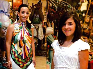 CARLA ANDRÉS Y ESTHER MARCO, FALLERAS MAYORES DE ALZIRA DE 2009