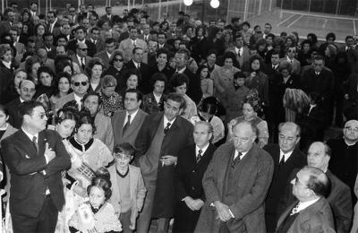 ESTAMPAS Y RECUERDOS DE ALZIRA (49)  -  LA INAUGURACIÓN DEL CLUB DE TENIS ALZIRA EN 1972  -  POR: ALFONSO ROVIRA