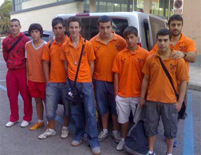UNA REPRESENTACIÓN DEL CLUB HALTEROFILIA ALZIRA VIAJÓ A VILLANÚA (HUESCA)