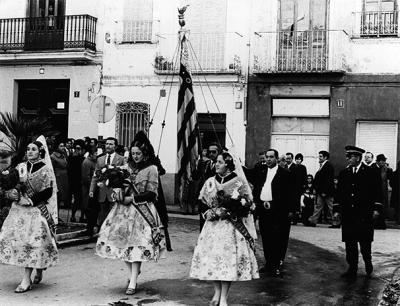ESTAMPAS Y RECUERDOS DE ALZIRA (50) - LA HISTORIA DE LA BANDERA DE LA SENYERA Y LA CONQUISTA DE ALZIRA POR JAIME I