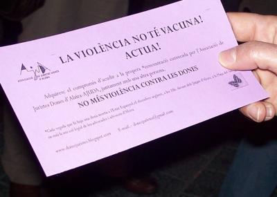 MANIFESTACIÓ DEMÀ A ALZIRA CONTRA LA VIOLÈNCIA MASCLISTA