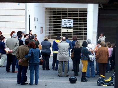 UNA NOVA MANIFESTACIÓ DEMÀ A ALZIRA CONTRA LA VIOLÈNCIA MASCLISTA