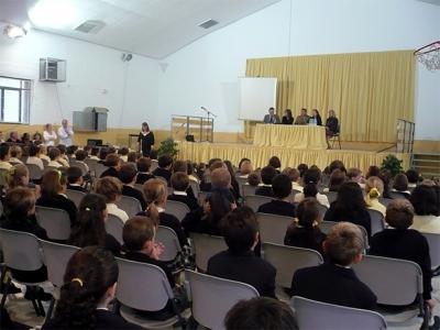 ELENA BASTIDAS HA VISITADO EL BRITISH SCHOOL ALZIRA