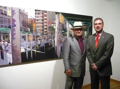 """EXPOSICIÓN DE PINTURA EN ALZIRA DE JOSEP FRANCÉS. """"CONSTRUCTIVISME IRREAL"""""""