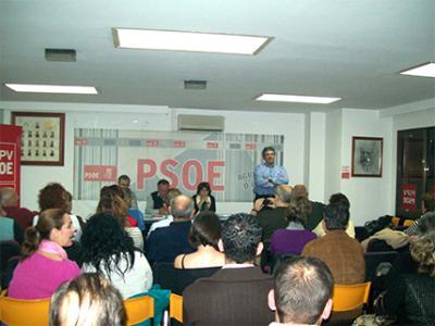 ENRIQUE ALBORCH, LOGRA UNA LISTA DE CONSENSO PARA ASISTIR AL CONGRESO CONSTITUYENTE PROVINCIAL DEL PSPV-PSOE