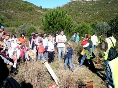 MÁS DE 400 PERSONAS HAN PARTICIPADO EN LAS REFORESTACIONES DE ESTE FIN DE SEMANA EN LA MURTA Y LA CASELLA DE ALZIRA