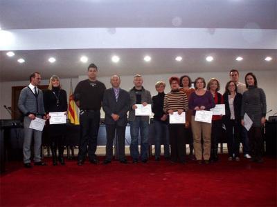 EL AYUNTAMIENTO DE ALZIRA ENTREGA LOS PREMIOS DEL VIII CONCURSO DE ESCAPARATISMO