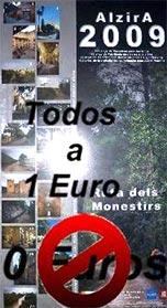 UN EURO POR EL CALENDARIO DE ALZIRA. ¿DÓNDE ESTÁ EL ESPÍRITU NAVIDEÑO DE NUESTRA ALCALDESA? ¿Y LA DECENCIA?