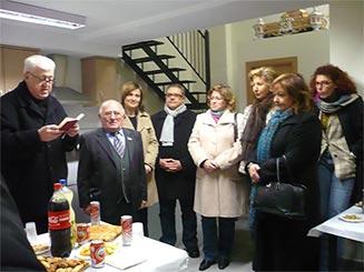 SE INAUGURA EN ALZIRA EL NUEVO LOCAL DE LA COMISIÓN DE FIESTAS DE SANT ANTONI