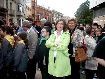 ELENA BASTIDAS ASISTE A LA CREMÀ DE LA FALLA DE PRO-SUB