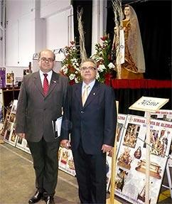 EL CONCEJAL DE FIESTAS DE ALZIRA, RAFAEL FITA, ASISTE AL ACTO INAUGURAL DE LA EXPOSICIÓN DIOCESANA DE LA SEMANA SANTA
