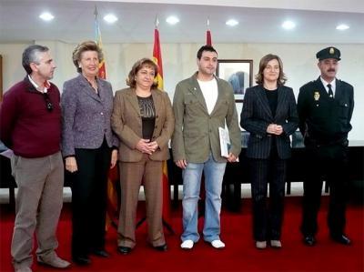 ELENA BASTIDAS RECONOCE LA HAZAÑA DEL ALZIREÑO JOSÉ DAVID RUBIO