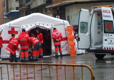 UN TOTAL DE 35 VOLUNTARIOS DE CRUZ ROJA ESPAÑOLA PARTICIPARÁN EN EL DISPOSITIVO SANITARIO DE ALZIRA DURANTE LAS FIESTAS DE FALLAS