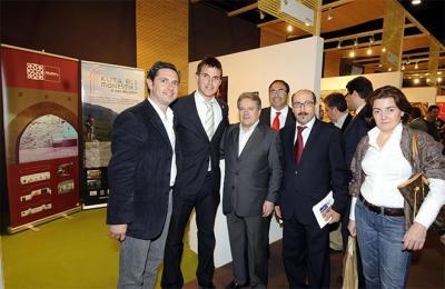 ÉXITO DE VISITAS EN EL STAND DE ALZIRA EN LA V FERIA INTERNACIONAL DE TURISMO DE LA COMUNIDAD VALENCIANA