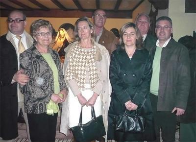 LA  DIRECTORA GENERAL DE PATRIMONIO CULTURAL VALENCIANO, PAZ OLMOS, VISITA LOS DOSELES DE ALZIRA JUNTO A LA ALCALDESA Y OTRAS PERSONALIDADES