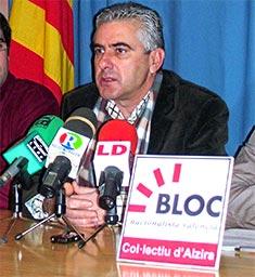 EL BLOC DE ALZIRA DENUNCIA DE NOU LA FALTA DE PARTICIPACIÓ EN L'ELABORACIÓ DEL LLISTAT DE PROJECTES PER AL PLA DE LA GENERALITAT VALENCIANA