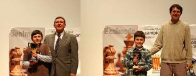 ÉXITO DE LOS JUGADORES DEL CLUB AJEDREZ ALZIRA PACO RUBIO Y PEDRO RUBIO EN LOS CAMPEONATOS AUTONÓMICOS POR EDADES  DE AJEDREZ
