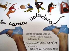 """TEATRE FAMILIAR A ALZIRA AMB """"LA CAMA VOLADORA"""""""